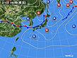 2020年07月21日の実況天気図