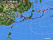 2020年07月24日の実況天気図