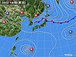 2020年08月30日の実況天気図