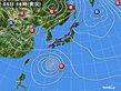 2020年09月05日の実況天気図