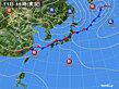 2020年09月11日の実況天気図
