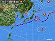 2020年09月14日の実況天気図