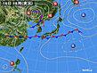 2020年09月16日の実況天気図