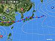2020年09月17日の実況天気図