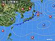 2020年09月18日の実況天気図