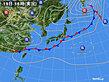 2020年09月19日の実況天気図
