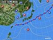 2020年09月20日の実況天気図