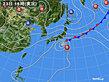 2020年09月23日の実況天気図