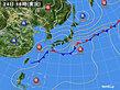 2020年09月24日の実況天気図