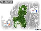 2015年08月26日の岐阜県の実況天気