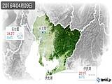 2016年04月09日の愛知県の実況天気