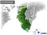 2016年05月30日の和歌山県の実況天気