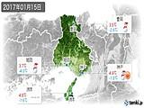 2017年01月15日の兵庫県の実況天気