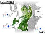 2017年06月22日の熊本県の実況天気