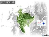 2017年10月15日の佐賀県の実況天気