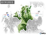 2017年12月31日の福岡県の実況天気