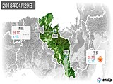 実況天気(2018年04月29日)