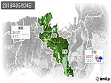 実況天気(2018年05月04日)