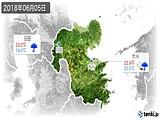 2018年06月05日の大分県の実況天気