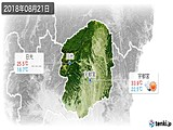 2018年08月21日の栃木県の実況天気