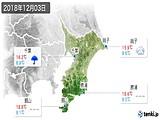 2018年12月03日の千葉県の実況天気