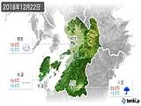 2018年12月22日の熊本県の実況天気