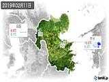 2019年02月11日の大分県の実況天気