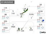 2019年05月06日の沖縄県の実況天気