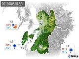 2019年05月18日の熊本県の実況天気