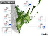 2019年09月06日の道東の実況天気
