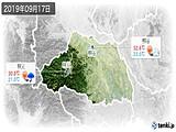 2019年09月17日の埼玉県の実況天気
