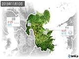 2019年11月10日の大分県の実況天気