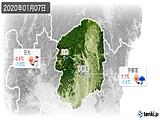2020年01月07日の栃木県の実況天気