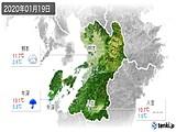 2020年01月19日の熊本県の実況天気