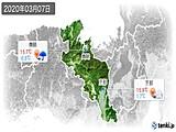 2020年03月07日の京都府の実況天気