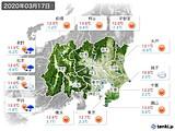 実況天気(2020年03月17日)