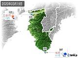2020年03月19日の和歌山県の実況天気