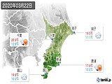 2020年03月22日の千葉県の実況天気