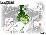 2020年04月02日の兵庫県の実況天気