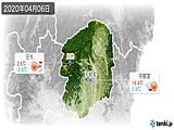 2020年04月06日の栃木県の実況天気