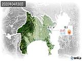2020年04月30日の神奈川県の実況天気