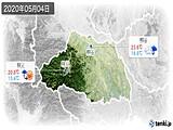 2020年05月04日の埼玉県の実況天気