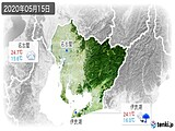 2020年05月15日の愛知県の実況天気