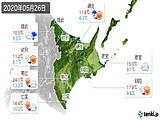 2020年05月26日の道東の実況天気