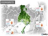 2020年06月07日の兵庫県の実況天気