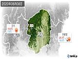 2020年06月08日の栃木県の実況天気