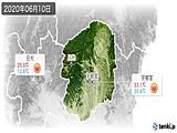 2020年06月10日の栃木県の実況天気