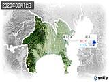 2020年06月12日の神奈川県の実況天気