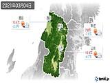 2021年03月04日の山形県の実況天気
