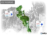 実況天気(2021年03月06日)